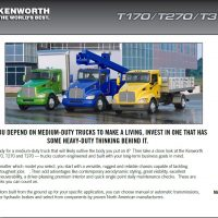 KENWORTH , The World's Best® trucks, Now Avaliable at REEFER REPAIR/ KENWORTH